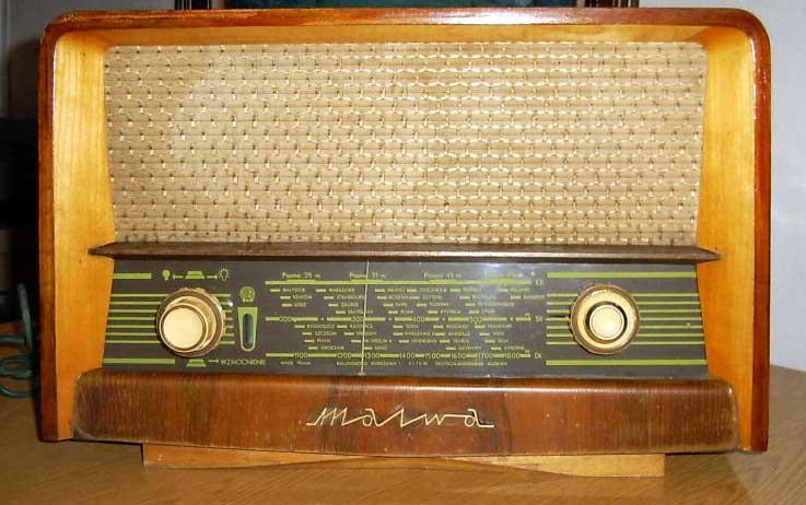 Jak przestroić radio HALKA stereo (lampa)